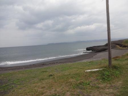 110洲崎の半島をぐるっと回り、あれは三浦半島でしょうか?脚とお尻が保たない