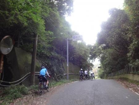 058後半二つ目の峠をクリア、富津市に・・・ヘロヘロ