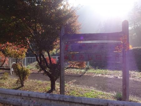 024志駒川渓谷、K182通称もみじロード