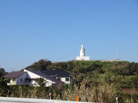 044洲崎灯台、すぐに到着