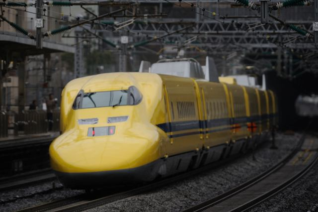 東海道新幹線 ドクターイエローT4編成 小田原