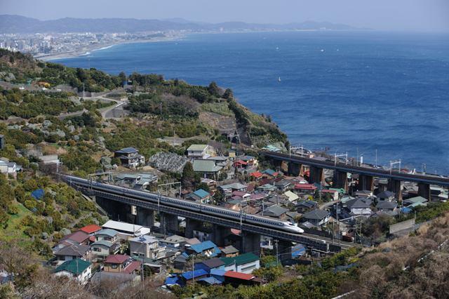 東海道新幹線 N700系 石橋山