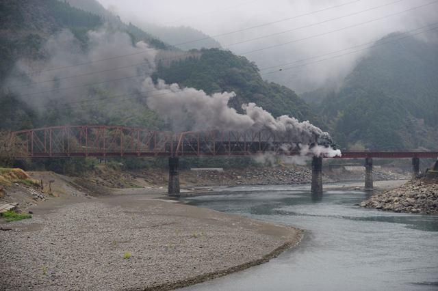 肥薩線 58654 球磨川第一橋梁