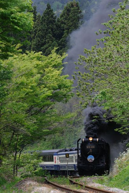 磐越西線 D51498 利田