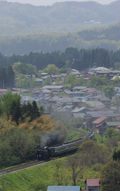 磐越西線 D51498 和尚山