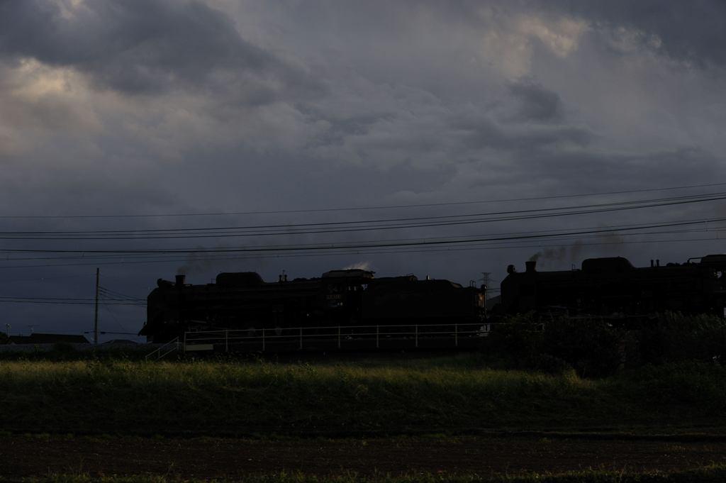 上越線 D51498+C6120 渋川