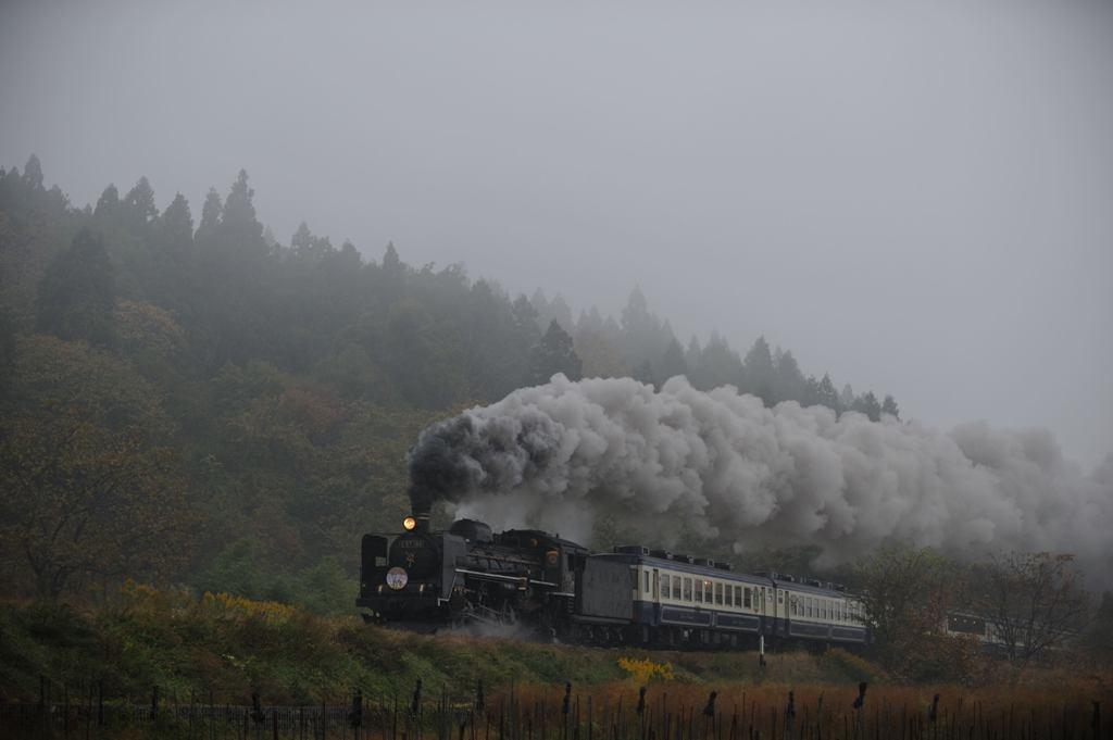 磐越西線 C57180 松野