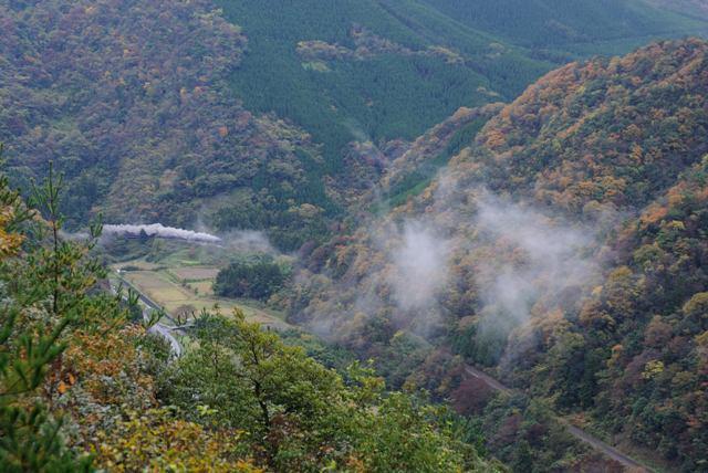 山口線 C571 牧が野V俯瞰