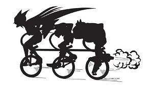 おしおき自転車-b