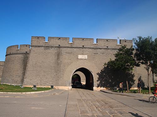宛平県城にある東側の門
