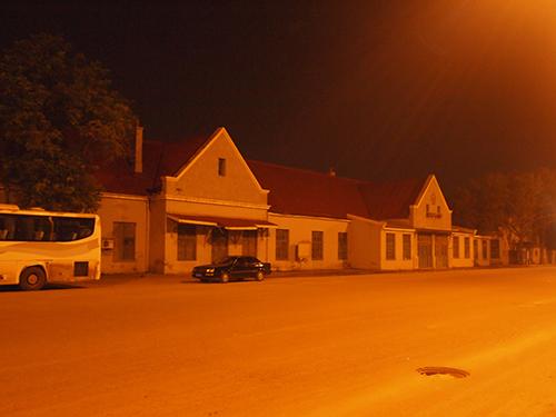 旧塘沽駅の駅舎
