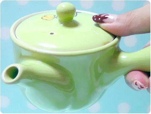 こいまろ茶の可愛い急須 プレゼント!