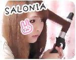 SALONIA 2wayストレート&カールヘアアイロン