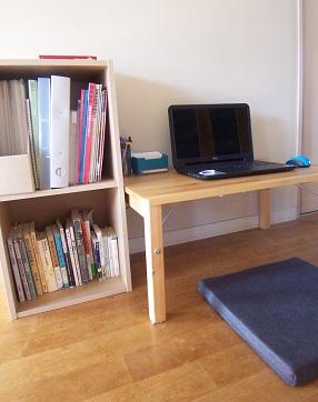 ミニマムな書斎のイメージ