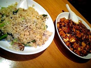 食べ物 2010年2月28日 ヨドバシ8階中華料理店