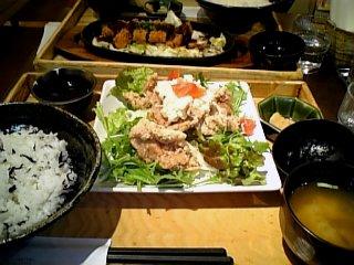 外食 2010年3月21日 大戸屋の定食