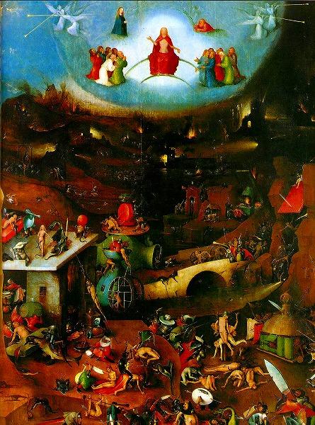 最期の審判Hieronymus Bosch