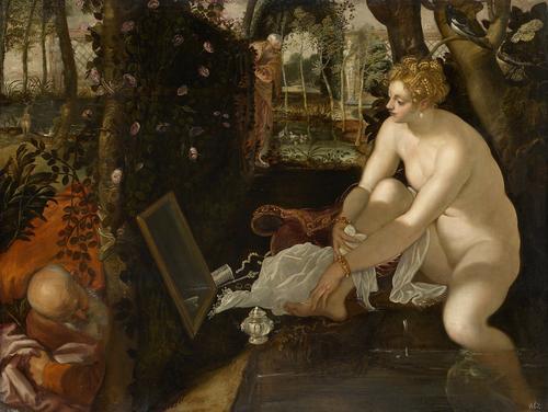 Jacopo Robusti, gen. Tintoretto Susanna im Bade