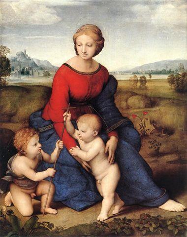 ベルヴェデーれの聖母 ラファエロ・サンティ