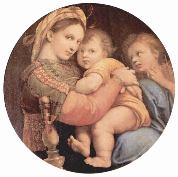 聖母ラファエロ