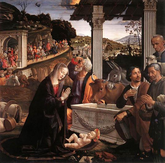 31 サンタトリニタ ギルランダイオ牧者の礼拝