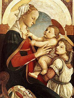 6 イノセンティ ボッティチェリ 聖母子と天使