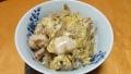 鶏牛蒡の親子丼 20141007