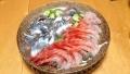 秋刀魚と甘海老のお刺身 20141011