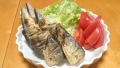秋刀魚のから揚げ 20141016