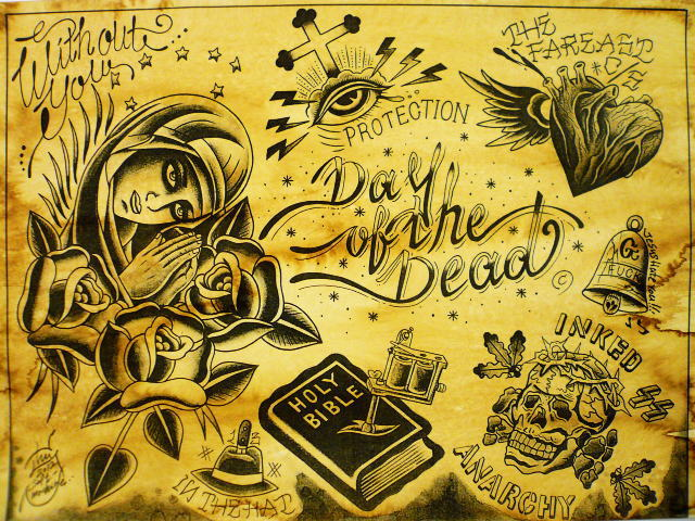 SOFTMACHINE×DAY OF THE DEAD 5TH ANNIVERSARY RELIGION FLASH
