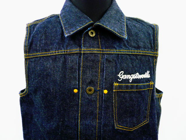 GANGSTERVILLE G.V.REBEL'S MC VEST