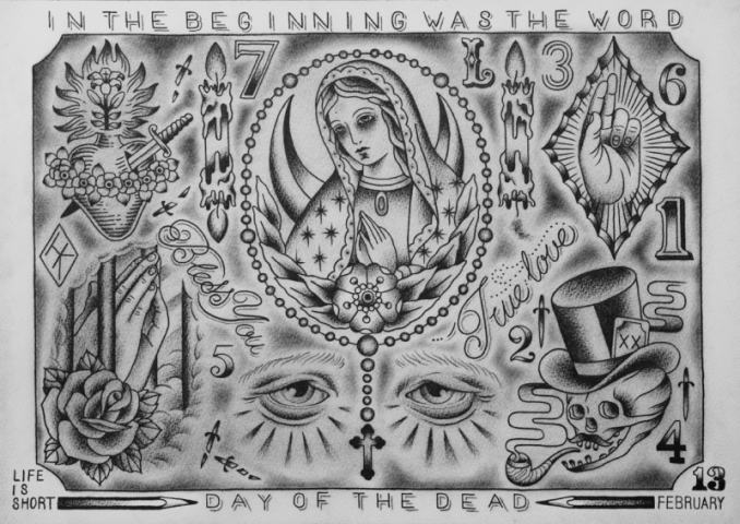 IN THE BEGINNING WAS THE WORD-MARIA FLASH