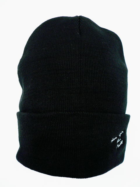 INTERFACE See you in hell COTTON BEANIE