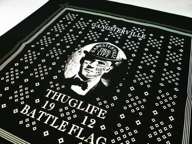 GANGSTERVILLE THUGS BATTLE FLAG