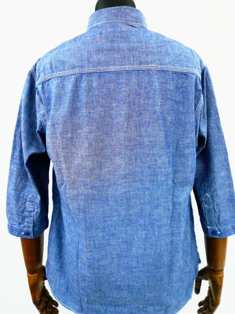 INTERFACE 3/4 CHAMBRAY SH
