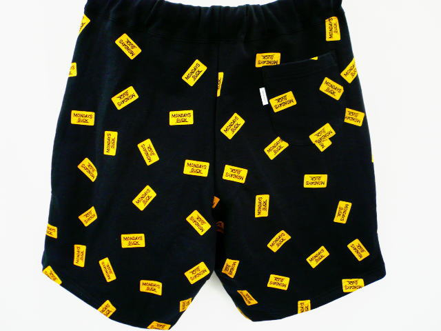 INTERFACE MONDAYS SUCK SWEAT SHORTS