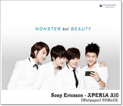 Sony Ericsson Xperia X10~モデル~CNBLUEメンバー