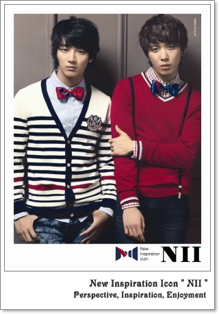 CNBLUEモデル【NII】New Inspiration Icon