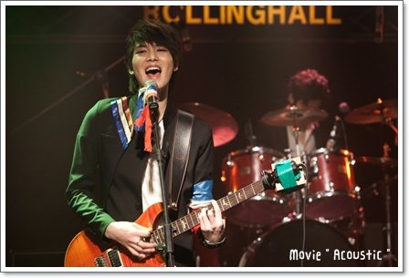 CNBLUE(ジョンヒョン・ミンヒョク)~映画『Acoustic』OST=CNBLUE-HIGH FLY=