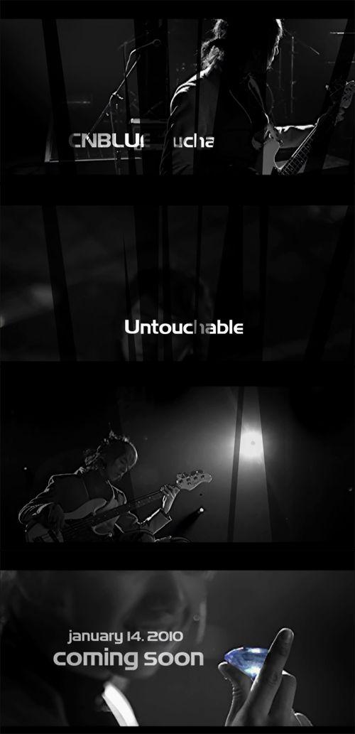CNBLUE記事:CNBlue - Untouchable [MV Teaser]イ・ジョンシン編