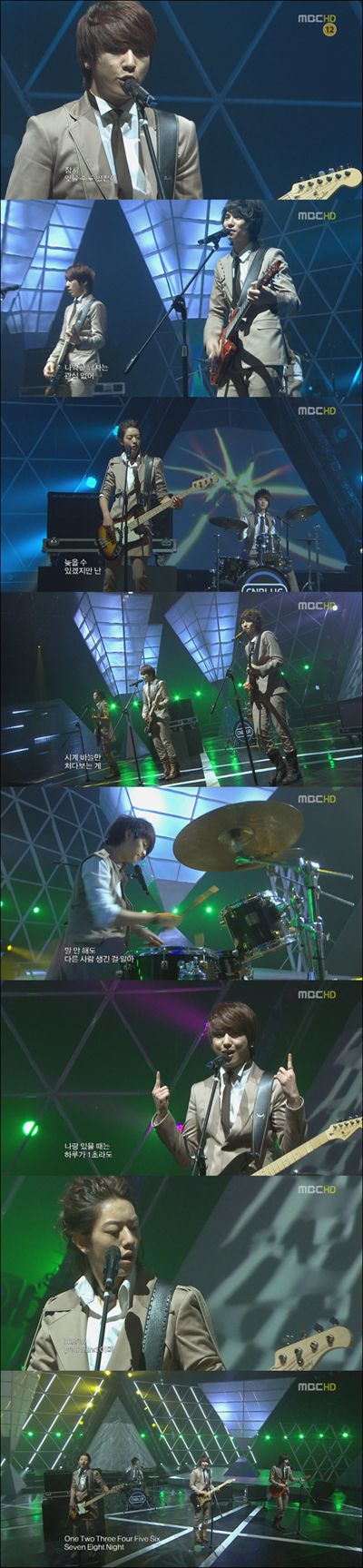 CNBLUE記事(3月6日Music Core◆Goodbye Stage◆)