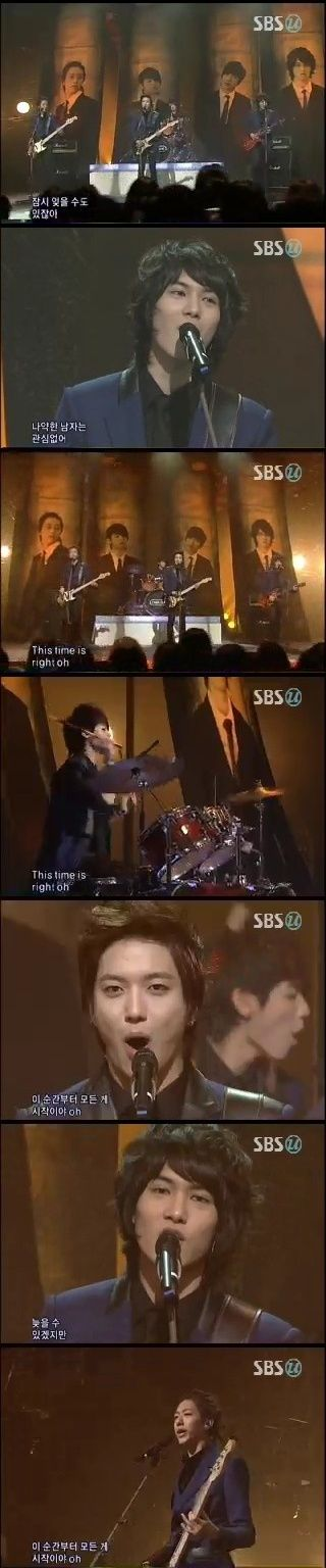 CNBLUE記事(3月7日Inkigayo◆Goodbye Stage◆)