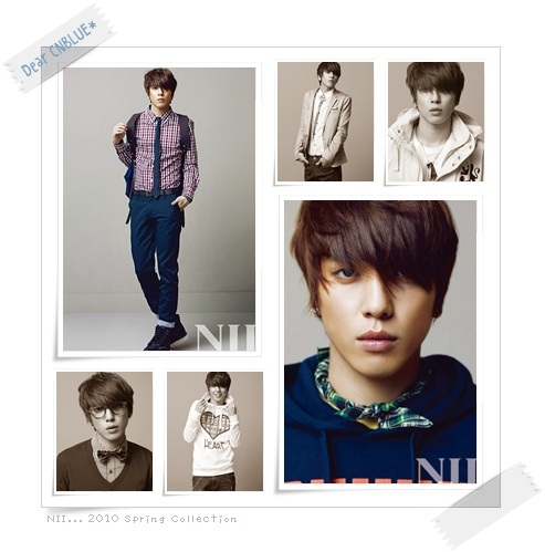 NII... 2010 Spring Collection(CNBLUEヨンファ)