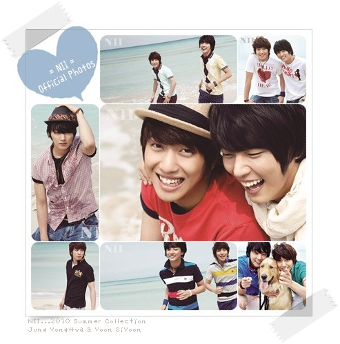 NII... 2010 Spring Collection(CNBLUEヨンファ&ユン・シウン)