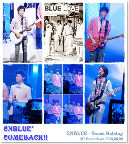 CNBLUE - Sweet Holidayライブ