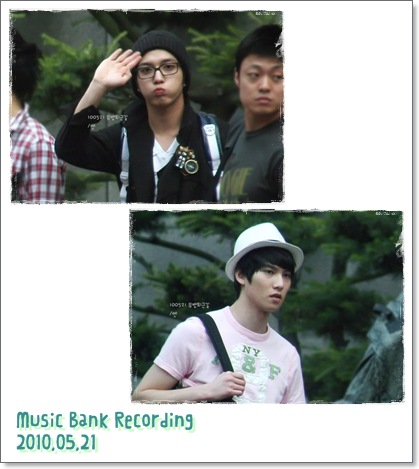 Music Bank Recording