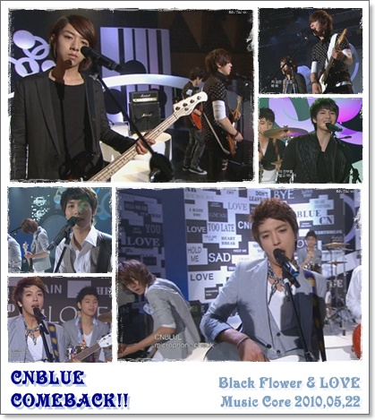 CNBlue - Black Flower + LOVE