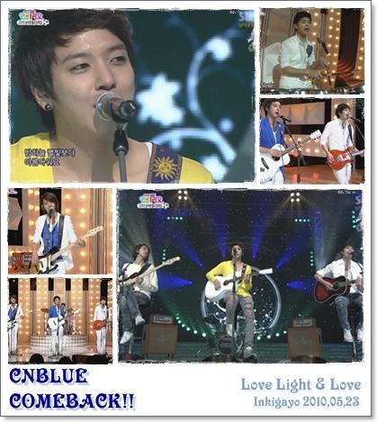 CNBlue - Love Light + LOVEライブ