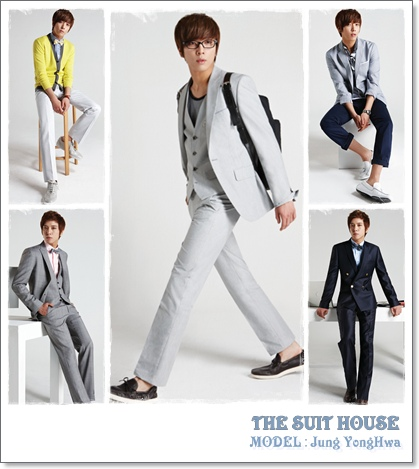THE SUIT HOUSE~モデル:CNBLUEヨンファ