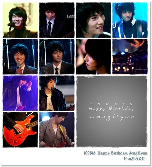100515, Happy Birthday, JongHyun
